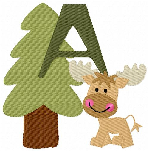 Hunting Season Monogram Set