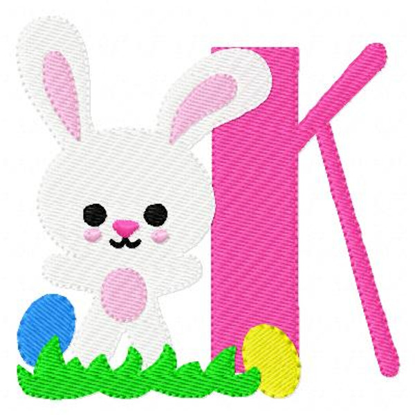 Bunny Day Easter Monogram Set