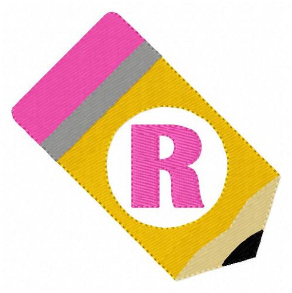 Pencil Monogram Set