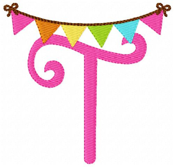 Birthday Banner Monogram Set