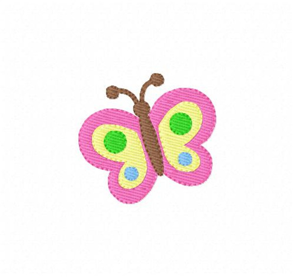Butterfly Embroidery Design 3138