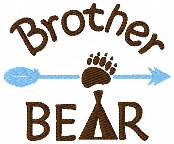 Bear Pack Set of 5 Machine Embroidery Designs