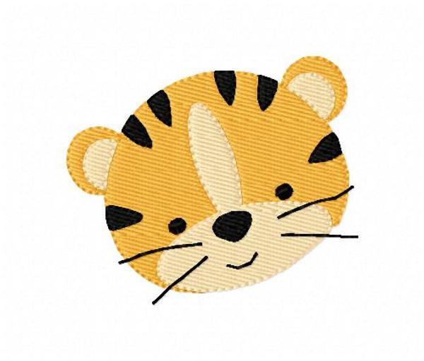 Tiger Machine Embroidery Design
