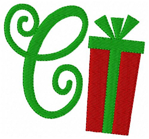 Christmas Mega Monogram Embroidery Design Bundle