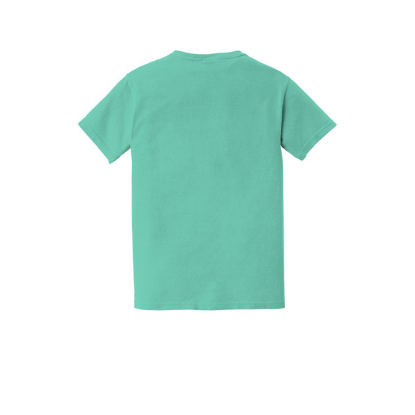 on mission. Embroidered Pocket Unisex COMFORT COLORS ® Heavyweight Ring Spun Pocket Tee