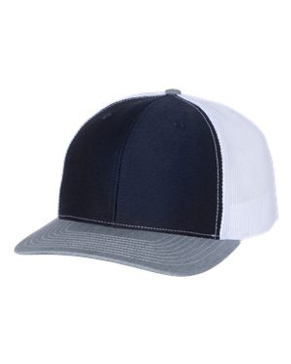Richardson 112 Snapback Trucker Hat with your Logo Custom Embroidered