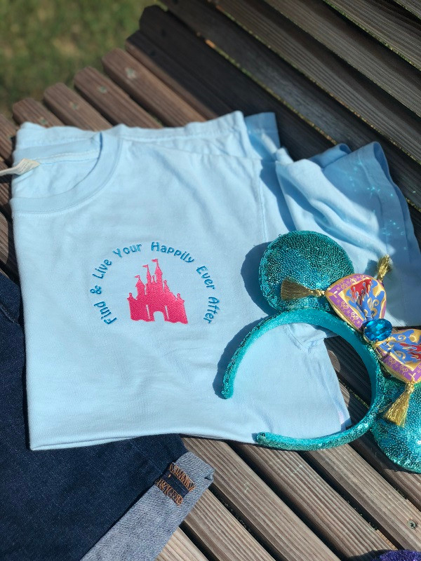 Find & Live Your Happily Ever After Embroidered Shirt