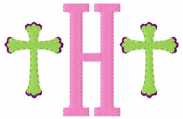 Cross Mini Monogram Set