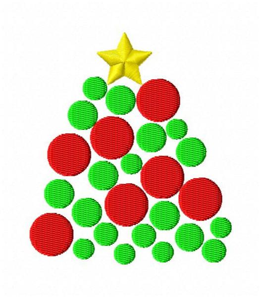Dot Christmas Tree