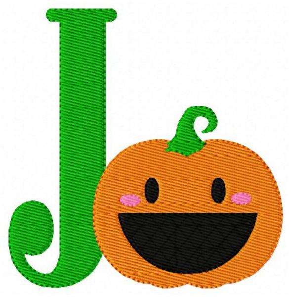 Pumpkin Cutie Monogram Set
