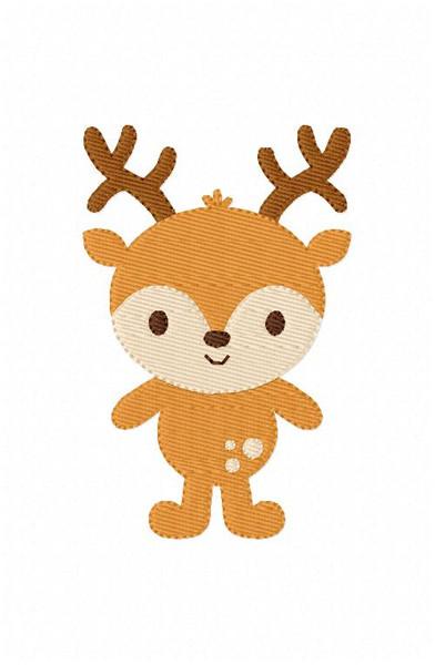Deer Christmas Hunting Design