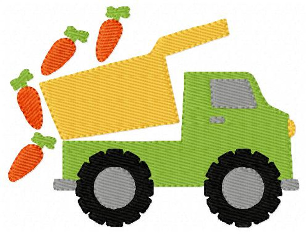 Dump Truck with Carrots Easter