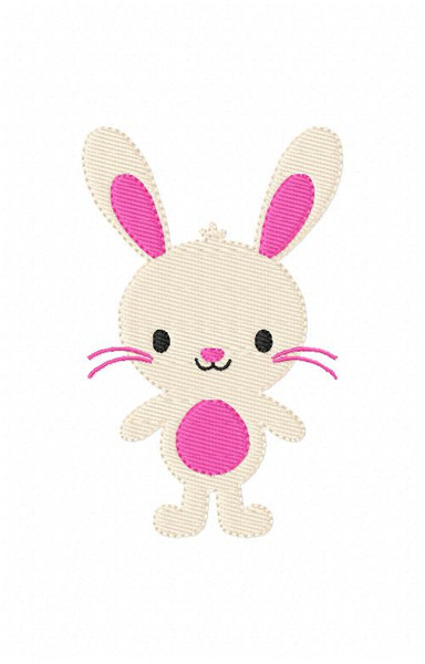 Easter Spring Bunny Embroidery