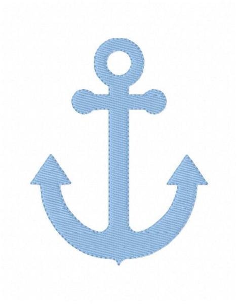 Anchor Machine Embroidery Design