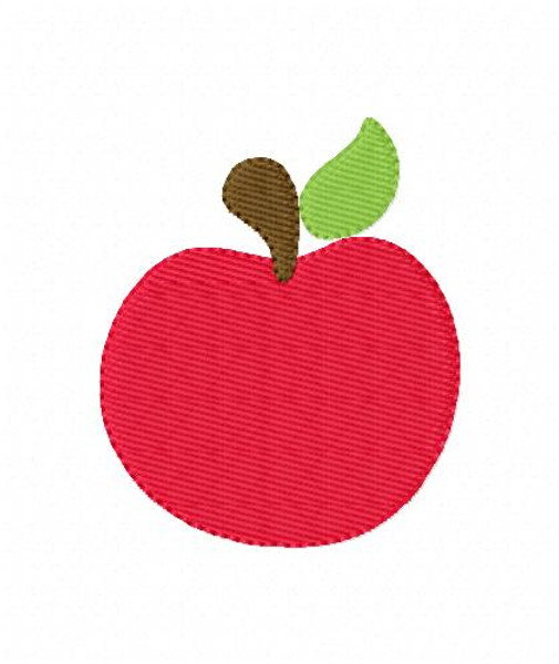 Apple Machine  Embroidery Design