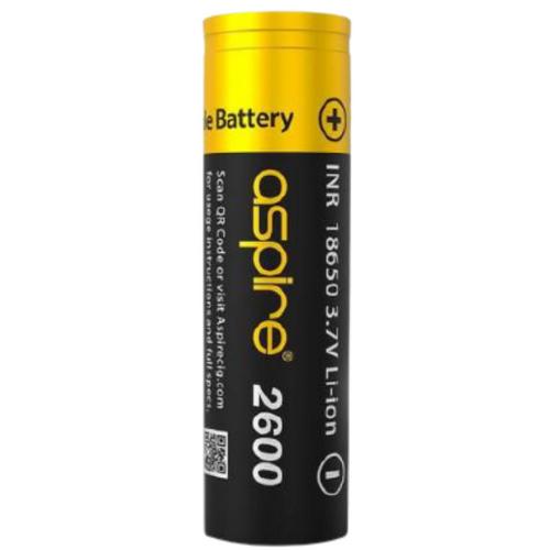 Aspire 18650 Rechargeable Vape Battery 2600mAh 20A