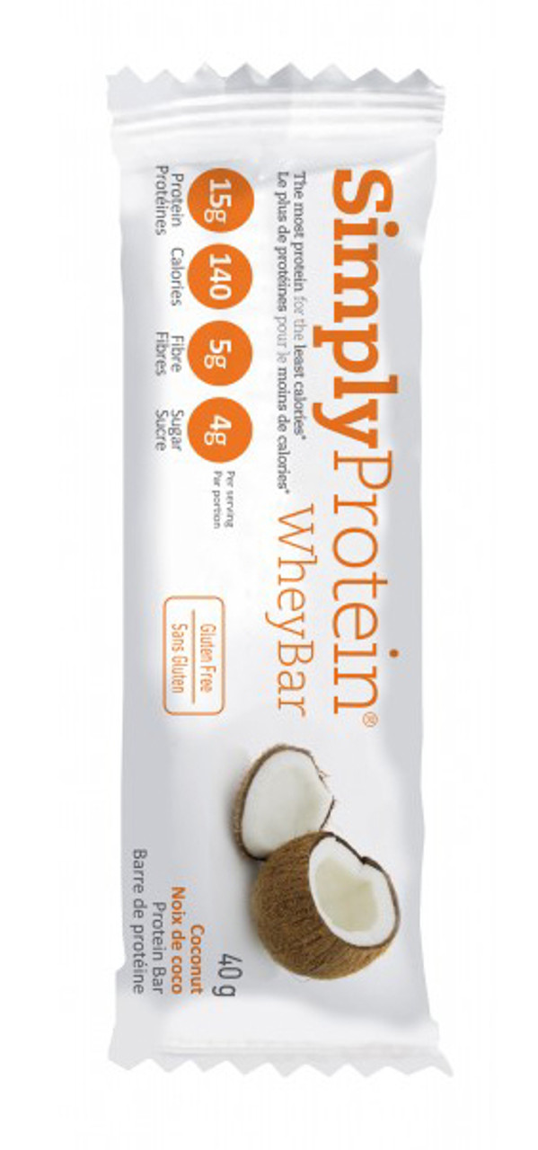Simply Protein Whey Coconut (12 x 40g bars)