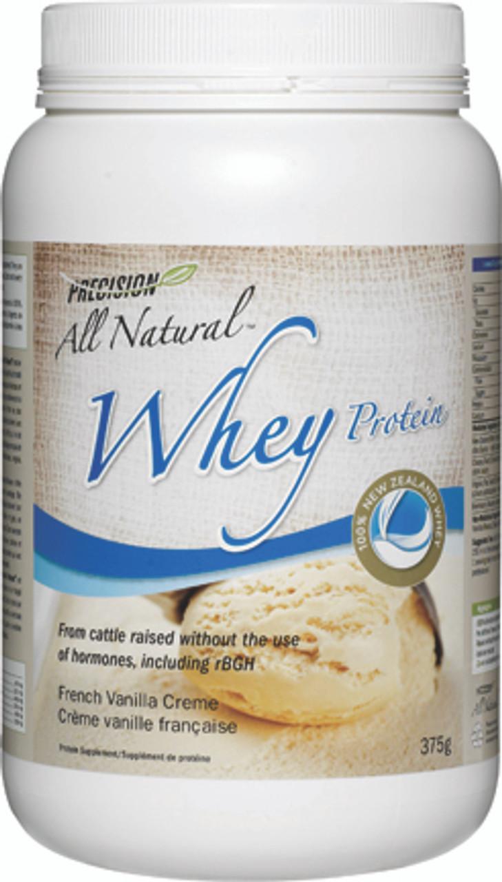 Precision All Natural Whey Protein French Vanilla Creme (375 g)
