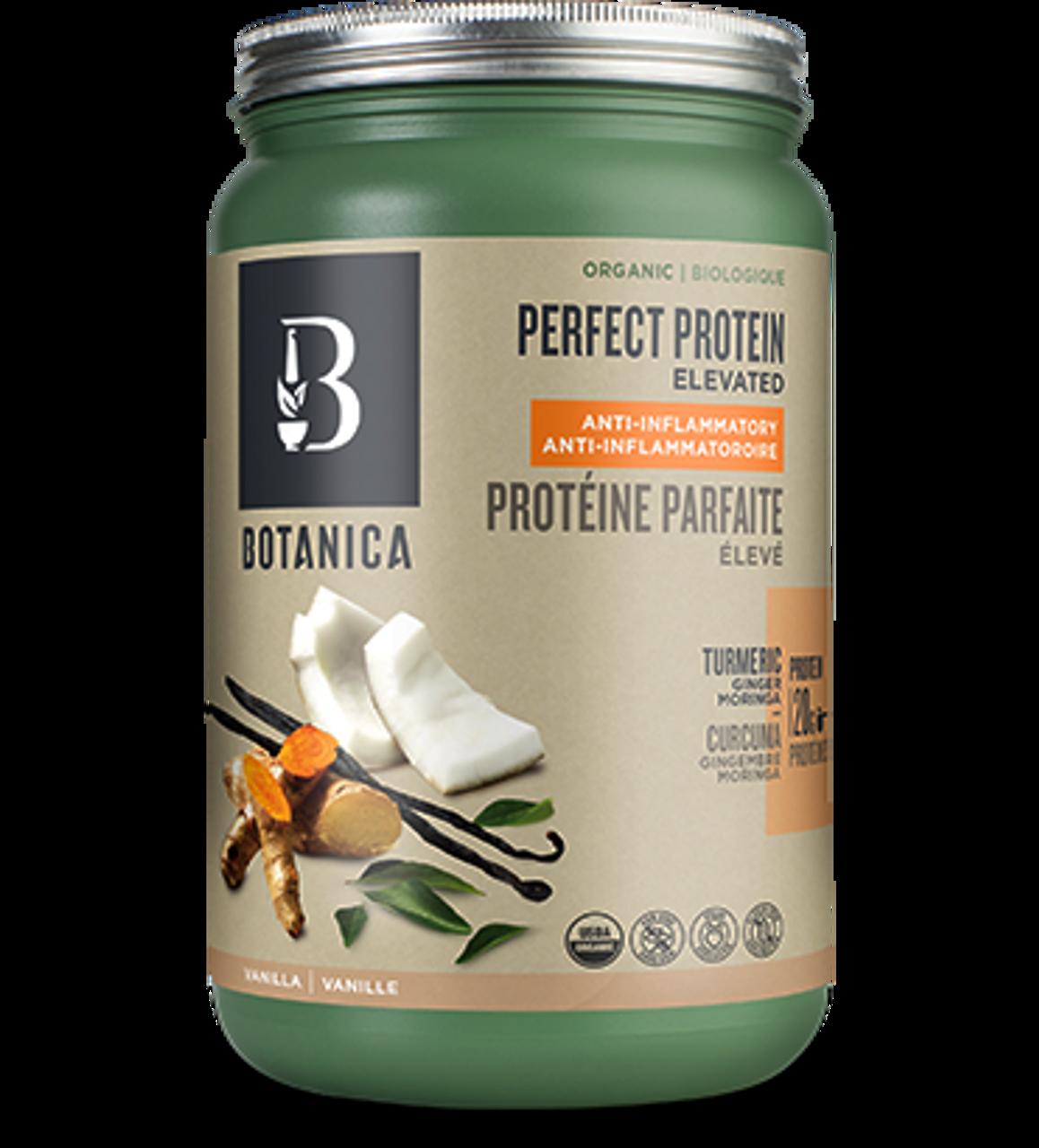 40b0472fb Botanica Perfect Protein Elevated Anti-Inflammatory Vanilla (629 g)
