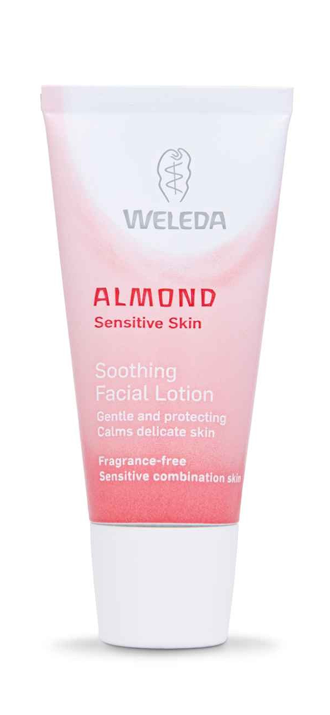weleda almond cream