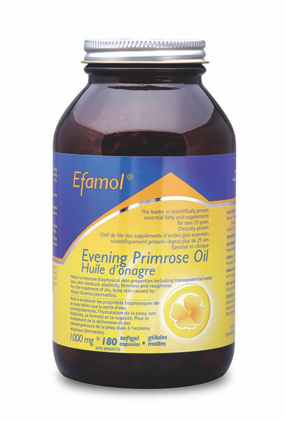 07d1245c74d Efamol Evening Primrose Oil 1000mg (180 softgel caps ...