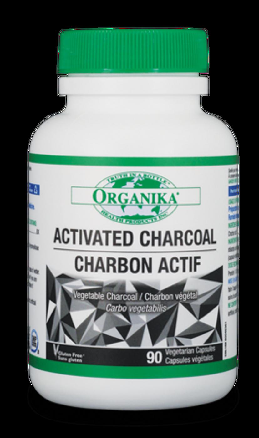 Organika Activated Charcoal (90 veg caps)