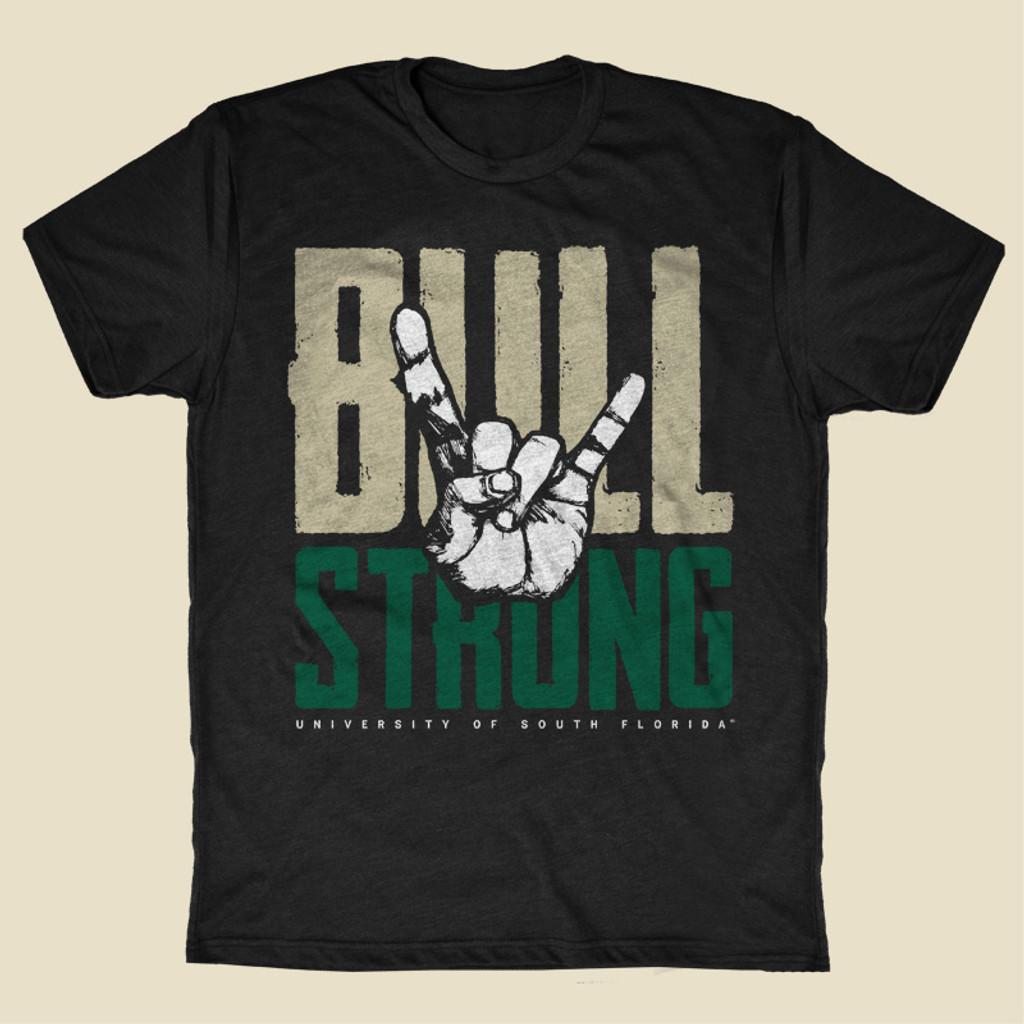 USF Bull Strong Black Shirt