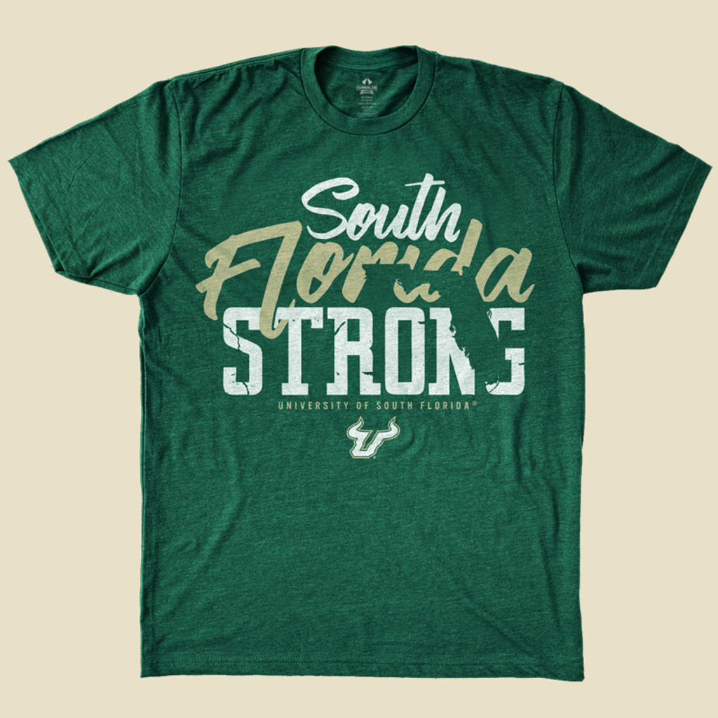 South Florida Strong Green Shirt