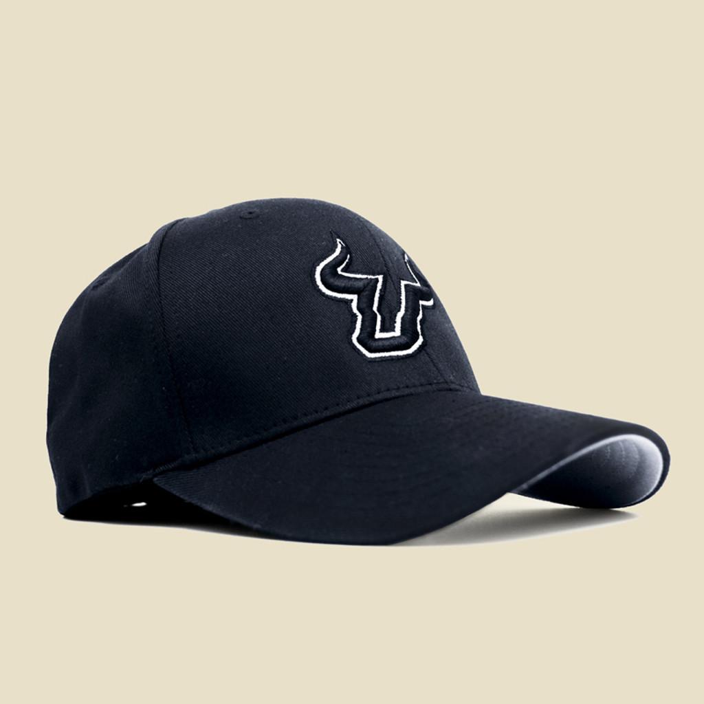 USF Logo Black Hat Angled