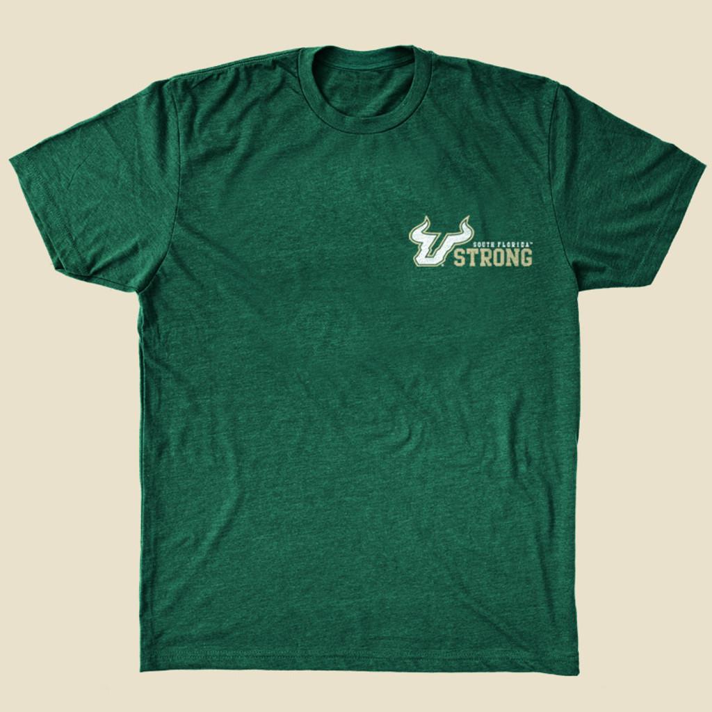 USF Bay Made Green Shirt Front