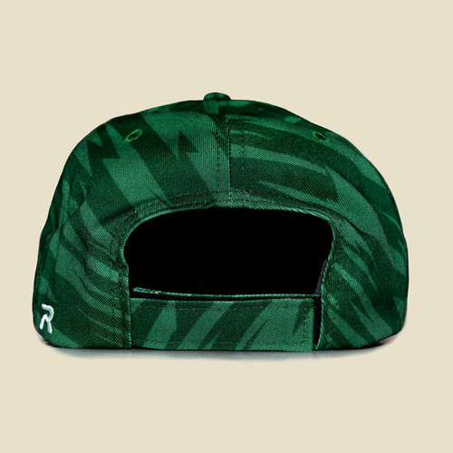 USF Logo Two-Tone Green Hat Back