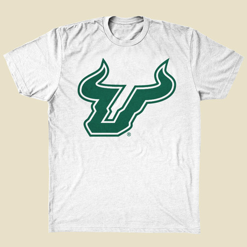 USF Logo White Shirt