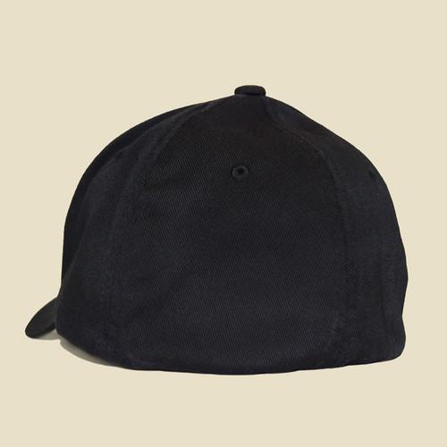 USF Logo Black Hat Back