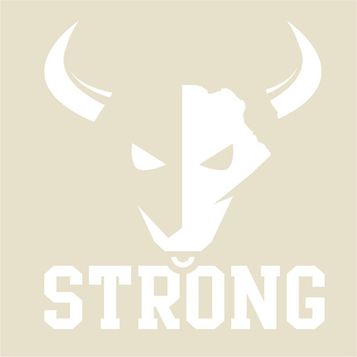 "USF Bull Strong 6"" Decal"