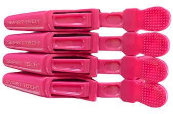 Lock Tight Clips 4pk - Hot Pink