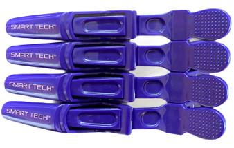 Lock Tight Clips 4pk - Dark Purple