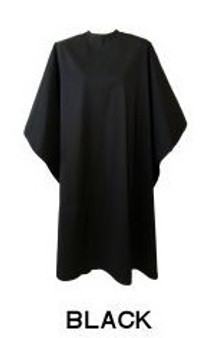 Water Repellent Shampoo/Cutting Cape - Black