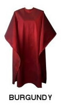Water Repellent Shampoo/Cutting Cape - Burgundy