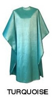 Water Repellent Shampoo/Cutting Cape - Turquoise