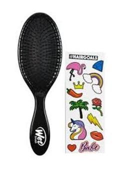 Wet Brush - Sticker Collection Black