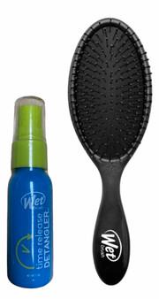Wet Brush - Black w/ FREE Spray