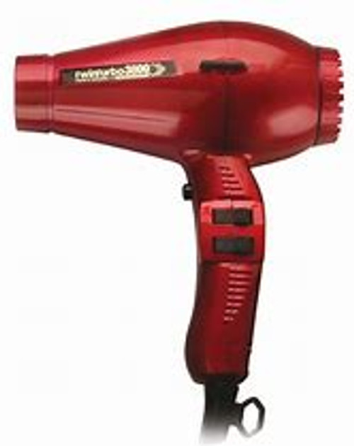 Twin Turbo 3800 Ceramic Ionic Eco Friendly - Red