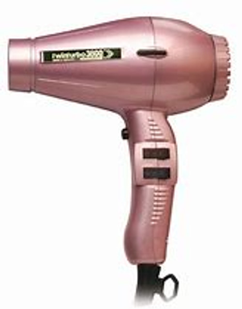 Twin Turbo 3800 Ceramic Ionic Eco Friendly - Pink