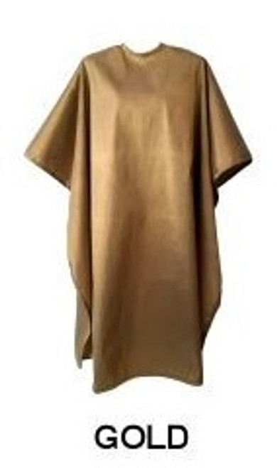 Water Repellent Shampoo/Cutting Cape - Gold