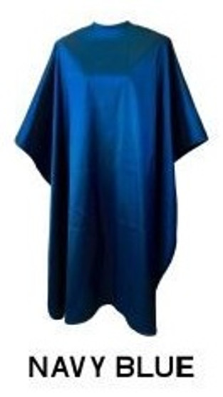 Water Repellent Shampoo/Cutting Cape - Navy Blue