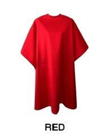 Water Repellent Shampoo/Cutting Cape - Red