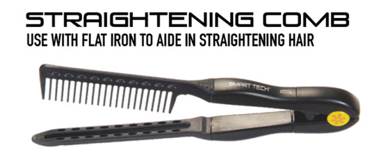 Straightening Comb by Smart Tech