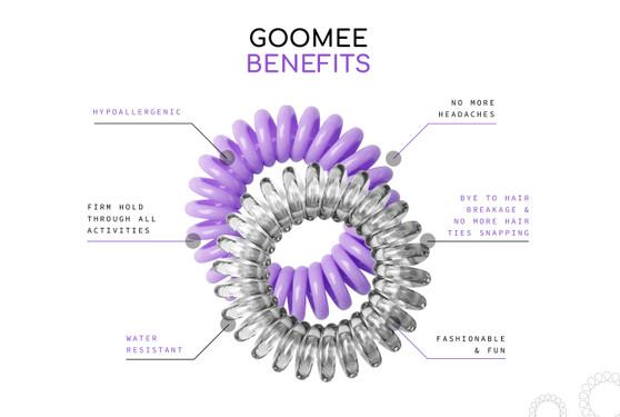Goomee - 10 Pack Diamond Clear