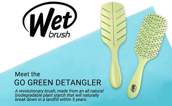 Wet Brush Go Green Detangler - Pink