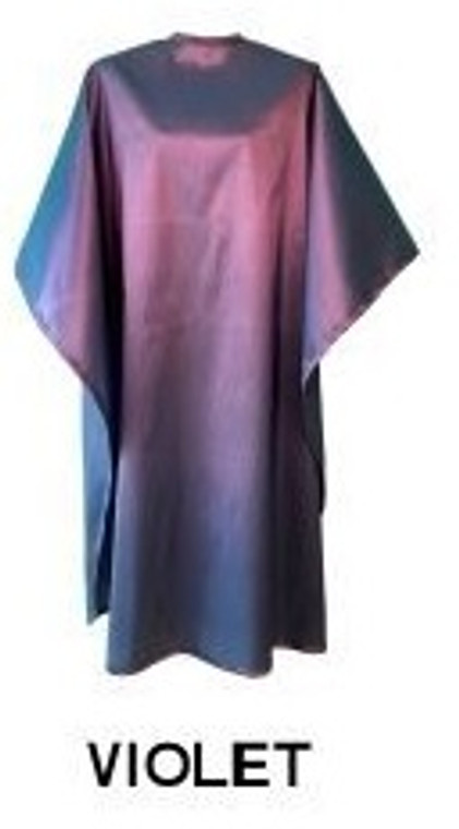Water Repellent Shampoo/Cutting Cape - Violet